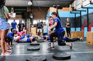 The Grahamstown Games' CrossFit bootcamp is one of the most challenging part of the Grahamstown Games throughout the day