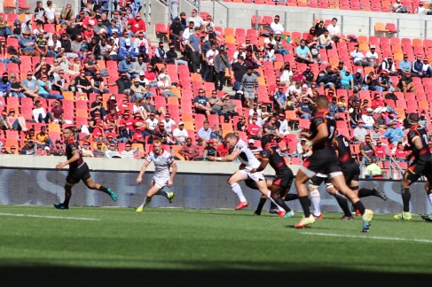 Ulster looked strong on attack against the Southern Kings on Sunday 16 September, 2018.