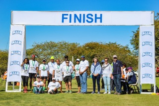 GBS Mutual Bank on show at the GBS Mountain Drive Half Marathon on Saturday 25 August