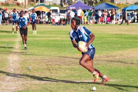 The Vukani Stallions performed well in the Fabian Juries Community Fun Day rugby tournament, challenging Cellotape in the semi-final. Photo: Stephen Kisbey-Green