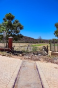The once thriving railway network that linked Alicedale to Makhanda (Grahamstown) is not chained up and desolate. Photo: Stephen Kisbey-Green
