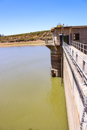 The New Year's dam in Alicedale is currently sitting at around twenty percent usable capacity. Photo: Stephen Kisbey-Green