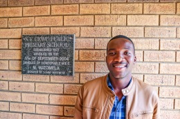 Thulani Wana was chosen to coach the EP provincial athletics team in the upcoming National Champsionships in Germiston, Gauteng. Photo: Stephen Kisbey-Green