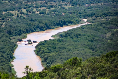 The Great Fish River meanders through the Great Fish River Nature Reserve, providing water to the many different wildlife, fauna and flora species in the park. Photo: Stephen Kisbey-Green