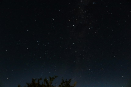 A beautiful night sky viewed from the balcony of the Mvubu Chalet inside the Great Fish River Nature Reserve. Photo: Stephen Kisbey-Green