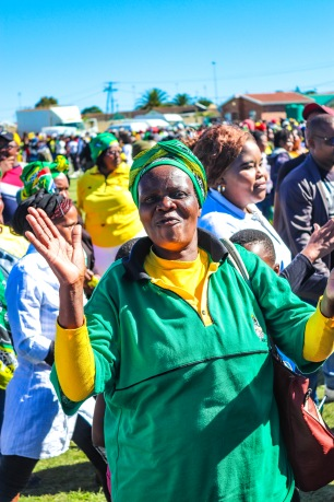 Celebrations and clapping were the order of the day at Miki Yilli Stadium, during the 2019 Freedom Day Celebrations. Photo: Stephen Kisbey-Green