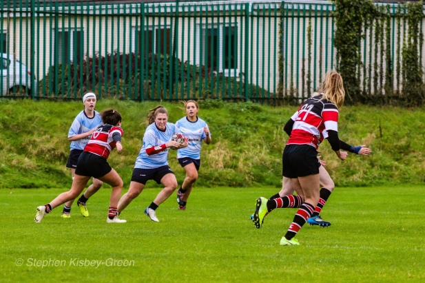 on the run against Wicklow. Photo: Stephen Kisbey-Green