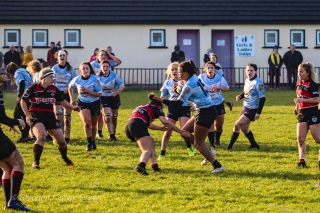 Eimear Corri cuts back on the angle against Tullamore. Photo: Stephen Kisbey-Green