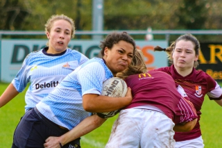 Not only was Eimear Corri a prolific try scorer for both club and college for DCU, she was also a powerful line breaker and strong runner.